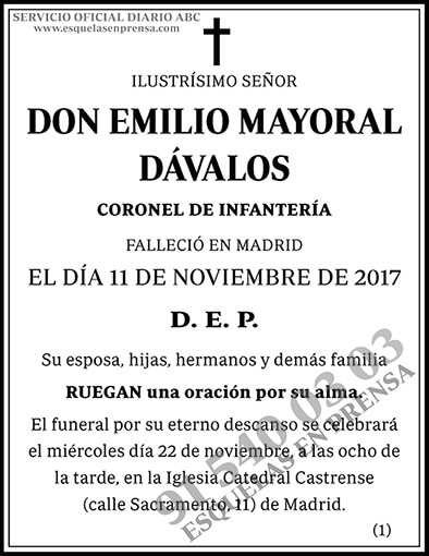 Emilio Mayoral Dávalos
